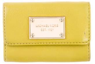 Michael Kors Leather Small Wallet Lime Leather Small Wallet