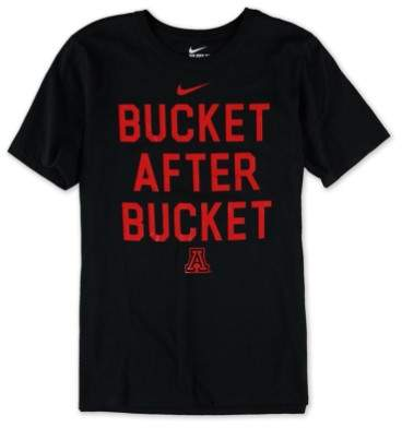 Nike Mens Buckets Verbiage Graphic T-Shirt arizonablack S