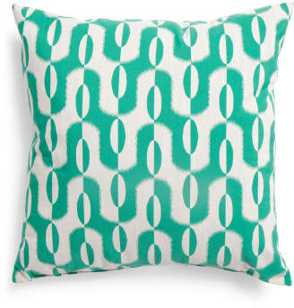 Made In USA 22x22 Spearmint Pillow