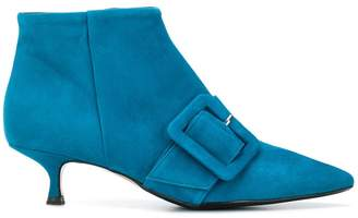 Anna F. pointed buckle boots
