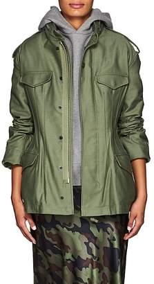 Junya Watanabe Comme des Garçons Women's Cotton Cinched-Back Field Jacket