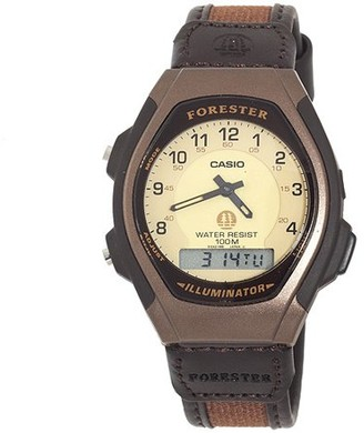 Casio Men's Ana-Digi Forester Illuminator Sport Watch, Brown