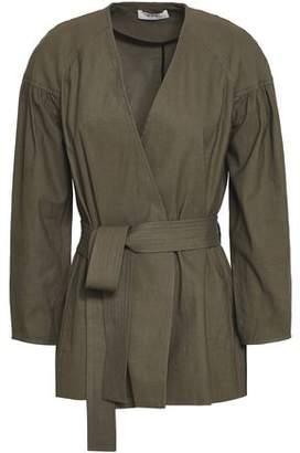 A.L.C. Kendrick Belted Linen-Blend Jacket