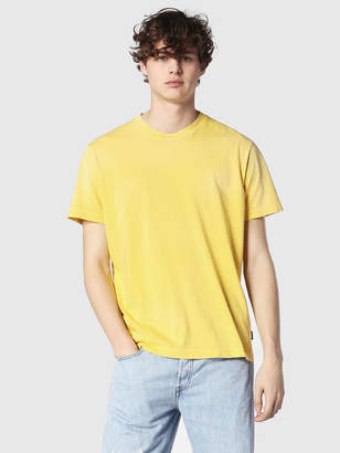Diesel T-Shirts 0BARK - Yellow - XS