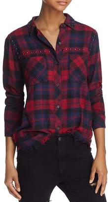Rails Rex Studded Plaid Shirt