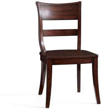Pottery Barn Bradford Dining Chair, Rustic Mahogany