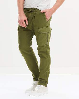 Soft Canvas Cargo Pants