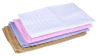 Spa Treatment Estink Cotton Stripe Beauty Salon Sheet Bed Cover With Face Breath Hole (Pink, 120*200)