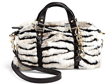 Juicy Couture Girl's Ziger Faux Fur Mini Bag