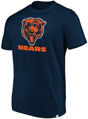 Majestic Men's Chicago Bears Flex Logo Tee
