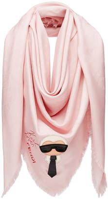 Fendi Karlito shawl