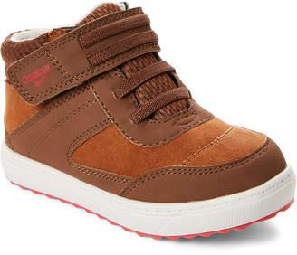 Osh Kosh B'gosh (Toddler Boys) Brown Ekon High-Top Sneakers