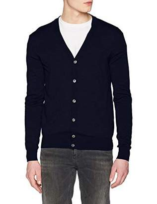 Hackett Men's Ff Gg Merino Cardi Jumper,XX-Large