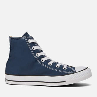 Converse Unisex Chuck Taylor All Star Canvas Hi-Top Trainers - Navy