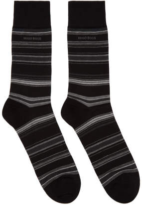 BOSS Black Multistripe Socks
