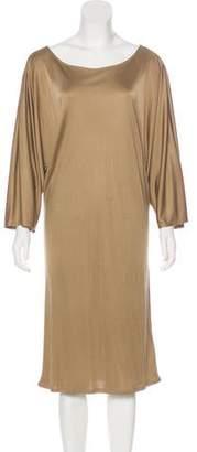 Ralph Lauren Black Label Long Sleeve Midi Dress