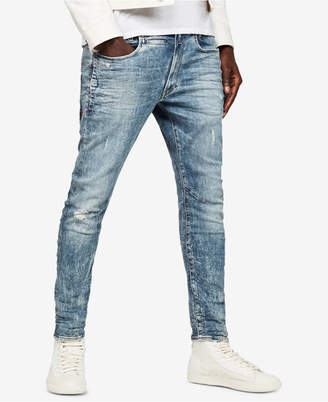 G Star Men's D-Staq 3D Skinny-Fit Stretch Destroyed Jeans, Created for Macy's