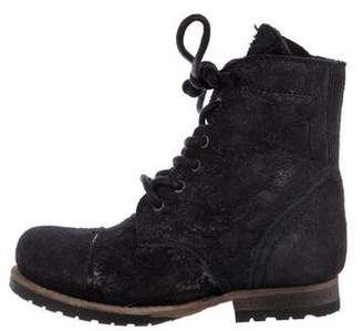 AllSaints Girls' Suede Boots w/ Tags