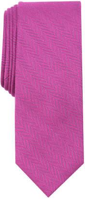 Bar III Men's New Herringbone Skinny Tie, Created for Macy's
