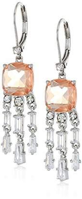Carolee Blushing Bride Collection Women's Mini Chandelier Drop Earrings
