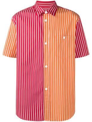 Kenzo two-tone striped shirt