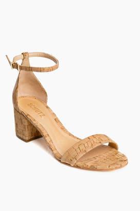 Schutz Cork Chimes Heels