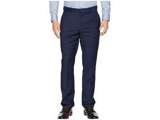 Perry Ellis Portfolio Slim Fit Large Tonal Windowpane Dress Pants