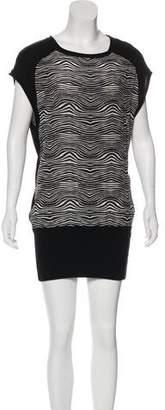 Pierre Balmain Sleeveless Knit Mini Dress