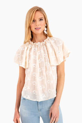 Rebecca Taylor La Vie by Helene Embroidery Top