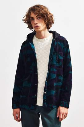 Urban Outfitters Hooded Corduroy Overshirt