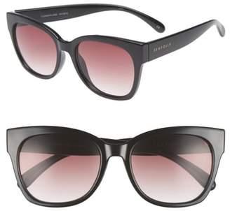 Seafolly Summerland 55mm Cat Eye Sunglasses