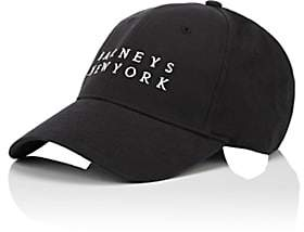 Barneys New York Women's Logo Baseball Cap-Black