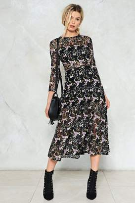 Nasty Gal Breath of Life Floral Dress