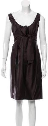 Prada Bow-Accented Cocktail Dress