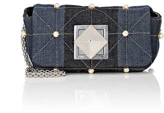 Sonia Rykiel Women's Le Copain Small Denim Chain Shoulder Bag