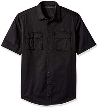 1f464aaaf6b3 Sean John Men s Short Sleeve Flight Shirt