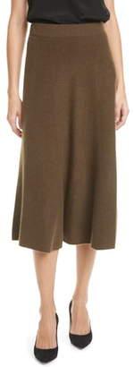 Nordstrom Signature Cashmere Midi Skirt