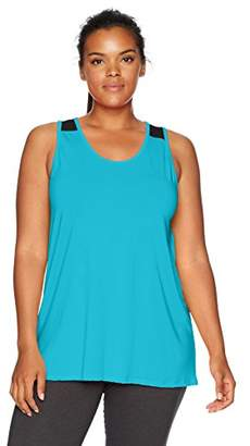 Fruit of the Loom Fit for Me by Women's Plus Size Double Back Tank