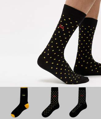 Pringle Selkirk Socks 3 Pack