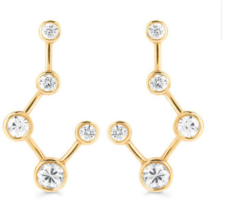 Logan Hollowell - Big Dipper Diamond Constellation Earrings Large $2,600 thestylecure.com