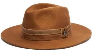Blend of America Filù Hats Filu Hats - Telluride Cashmere Fedora Hat - Womens - Camel
