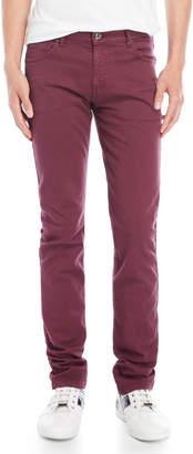 Versace Burgundy Jeans
