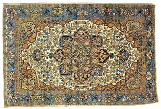 "One Kings Lane Vintage Antique Persian Bakhtiari Rug - 7'4""x11' - R. Banilivi and Son"