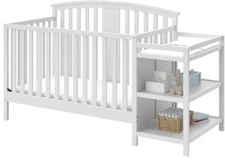 Stork Craft Storkcraft Greyson 4-in-1 Convertible Crib and Changer Combo