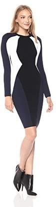 KENDALL + KYLIE Women's Bodycon Illusion Dress
