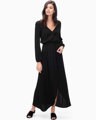 Splendid Heavy Crepe Wrap Dress