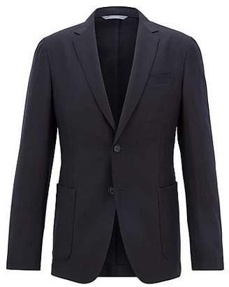 HUGO BOSS Slim-fit blazer in washable virgin wool
