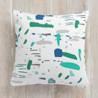 Splatter Square Pillow