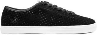 Ransom Black Perf/White Strata Shoes