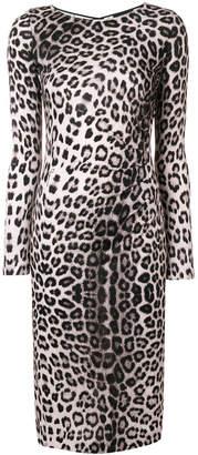 Class Roberto Cavalli leopard print dress